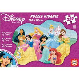 Puzzle 250 gigante princesas disney
