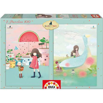 Puzzle 2x100 melon shower - 04016725