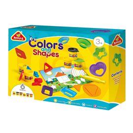 Colores y formas de plastelina