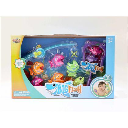 Juego de pesca infantil 11 piezas - 87808200