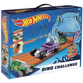 Pista hot wheels dino challenge