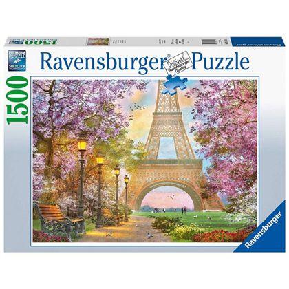 Puzzle 1500 amor en paris - 26916000