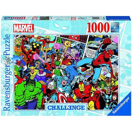 Puzzle 1000 challenge marvel - 26916562
