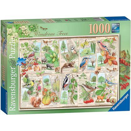 Puzzle 1000 arboles maravillosos - 26916421