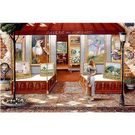 Puzzle 3000 galeria bellas artes
