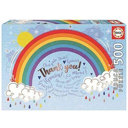 Puzzle 500 rainbow - 04018893