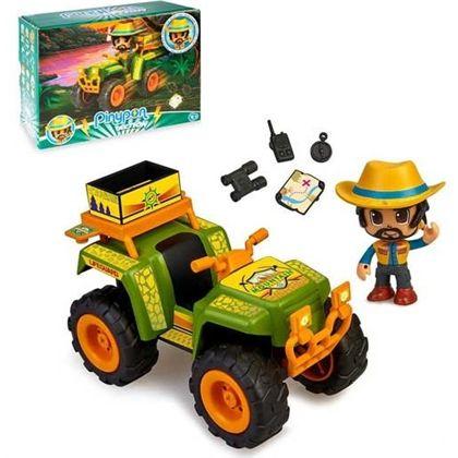 Pinypon action wild coche quad - 13008821