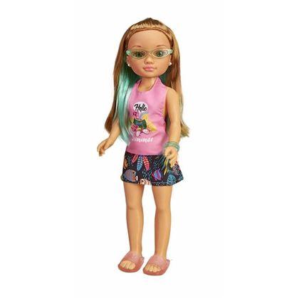 Nancy un dia con gafas tropicales rosa - 13009005