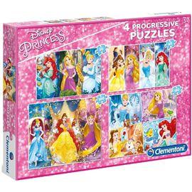 Puzzle princesas progresivo