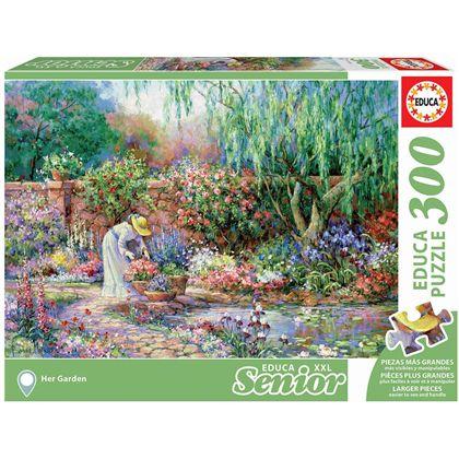 Puzzle 300 jardin senior - 04017981