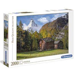 Puzzle 2000 fascination matterhorn