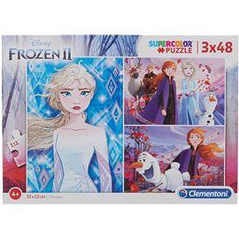 Puzzle 3x48 frozen