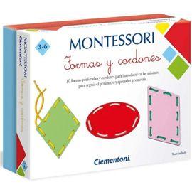 Montessori formas y cordones