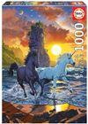Puzzle 1000 unicorns on the beach - 04019025