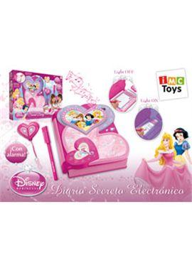 Diario secreto electrónico princesas disney - 18010400