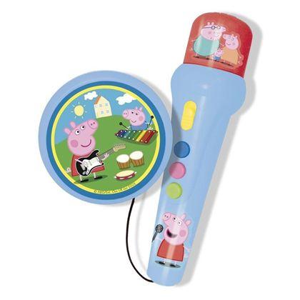 Micro de mano peppa pig con amplificador - 31002321