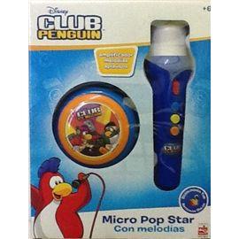 Microfono mano club penguin
