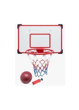 Tablero baloncesto 69x45,5 con pelota y inflador