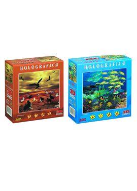 Puzzle holografico 100 piezas - 12511747
