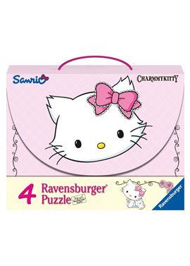 4 puzzle maleta charmy kitty - 26907311