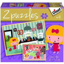 Puzzle contes 2 2x20 ricitos de oro