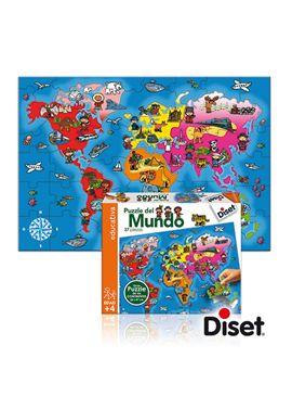Puzzle del mundo - 09563627