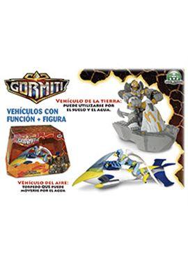 Gormiti s4- vehiculos con funcio + figura - 23402628