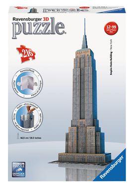 Puzzle 3d empire state 42 cm. 216 piezas - 26912553
