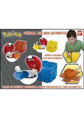Pokemon poke ball con dado automatico - 02586620