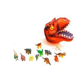 Cabeza de t-rex con 12 pequeñas piezas - 95902942