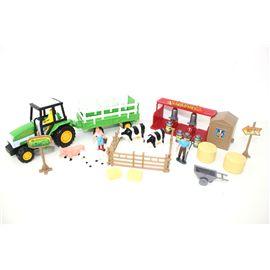 Set granja con tractor y accesorios