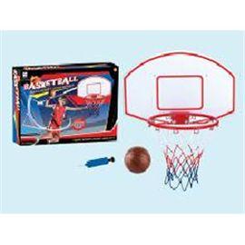 Canasta de baloncesto con pelota- altura