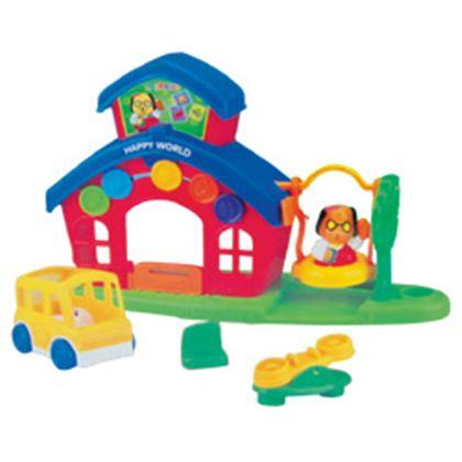 Colegio happy world con accesorios - 91456303