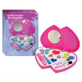Corazón con maquillaje - 87206181