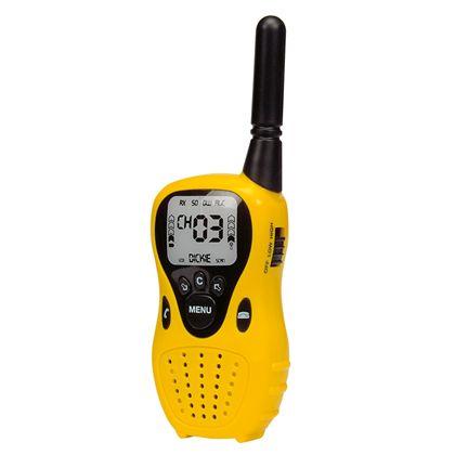 Walkie talkie negro y amarillo - 91018176