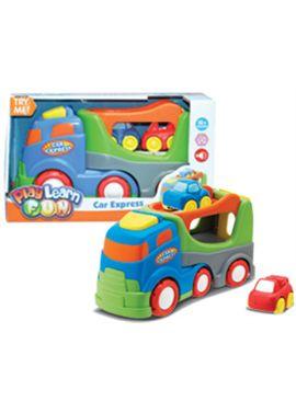 Camión con dos coches expres con sonidos - 92312149