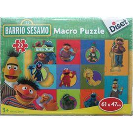 Macro puzzle barrio sesamo