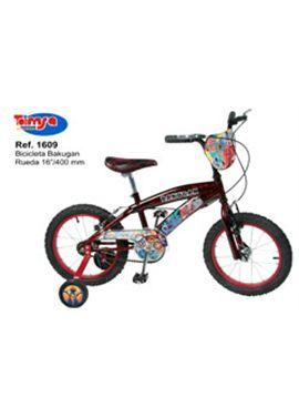 "Bicicleta bakugan 16"""