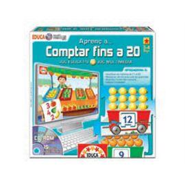 Aprenc a comptar fins a 20 catala - 04014285