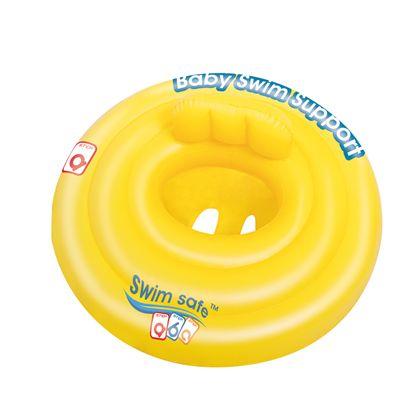 Flotador de aro con asiento swim safe primeros pas - 86732096