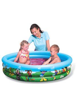 Mickey- piscina hinchable 3 anillos 122x25 - 86791007