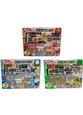 Set vehiculos mini