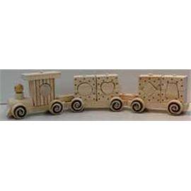 Tren con bloques madera - 86146250