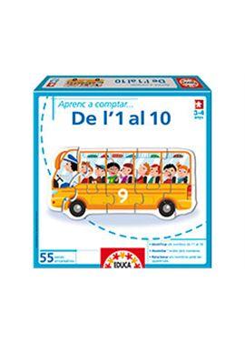 Aprenc a comptar. del 1 al 10 catala - 04014237
