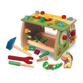 Banco de trabajo de madera 38 piezas