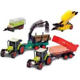 Conjunto de tractor c/ 3 remolques luz y sonido - 91073463