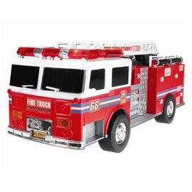 Camión de bomberos con luz y sonido a fricción 34c - 89817145