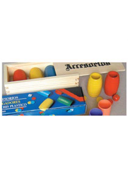 Parchis 4 jugadores caja madera - 24010017