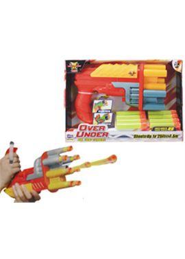 Pistola lanza dardos foam over under - 88091172