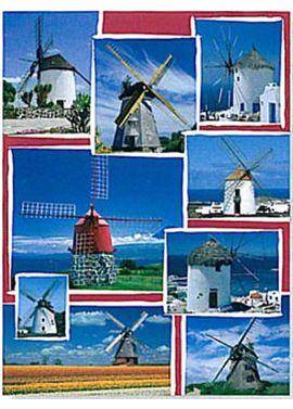Puz.1500 molinos de viento - 26916262